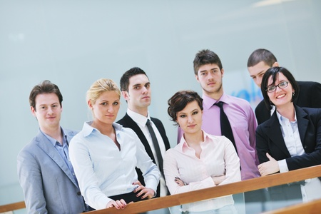 multi ethnic mixed adults  corporate business people team Stock Photo - 9619504