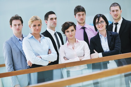multi ethnic mixed adults  corporate business people team Stock Photo - 9619520