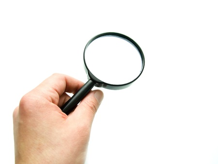 magnifying glass Stock Photo - 11412143