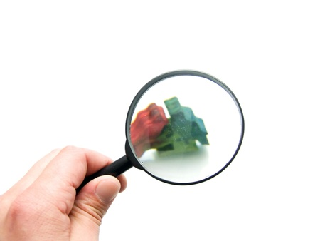 magnifying glass Stock Photo - 11412144