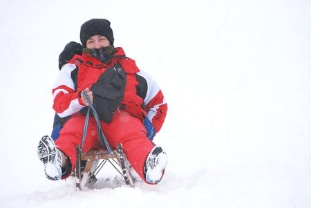 freetime activity: snow games