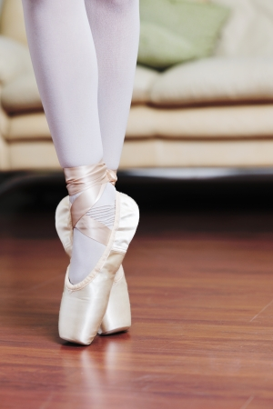 ballerina: ballet girl exercise and learn at home