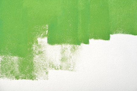 paint wall color background blue green  real texture isolated on white with copy space photo