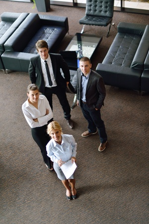 business people  team  group  on a meeting have success and make deal Stock Photo - 15300963