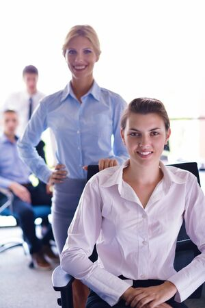 business people  team  group  on a meeting have success and make deal Stock Photo - 15527232