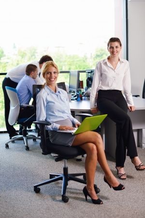 business people  team  group  on a meeting have success and make deal Stock Photo - 15396373