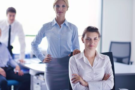 business people  team  group  on a meeting have success and make deal Stock Photo - 16523074