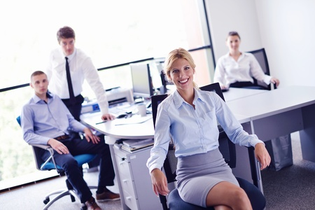 business people  team  group  on a meeting have success and make deal Stock Photo - 16523031