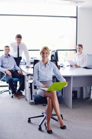 business people  team  group  on a meeting have success and make deal Stock Photo - 16522981