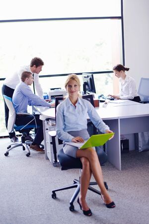 business people  team  group  on a meeting have success and make deal Stock Photo - 16522988