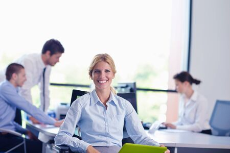 business people  team  group  on a meeting have success and make deal Stock Photo - 16522926