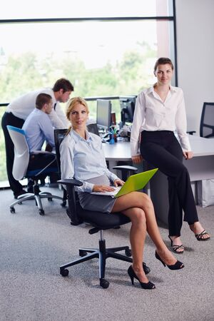 business people  team  group  on a meeting have success and make deal Stock Photo - 16522892