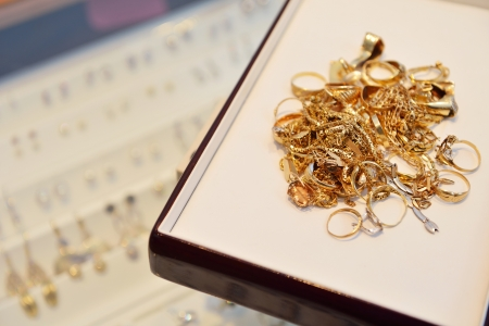 scrap gold: jewelry store shop indoors - small business