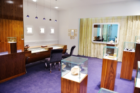 scrap trade: jewelry store shop indoors - small business