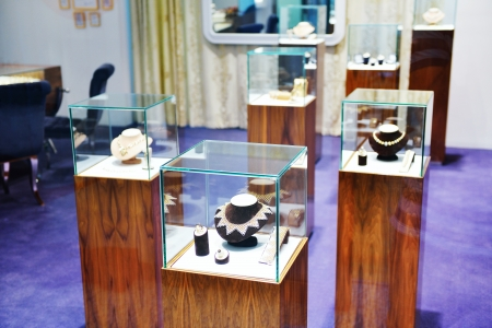 store display: jewelry store shop indoors - small business