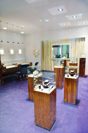 jewelry store: jewelry store shop indoors - small business