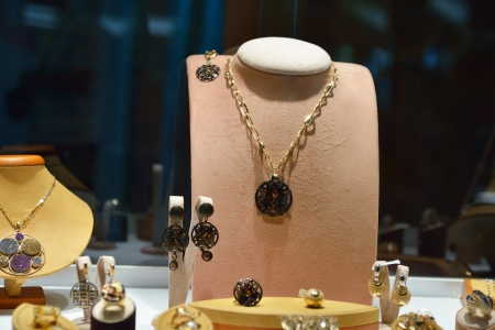 antique jewelry: jewelry store shop indoors - small business