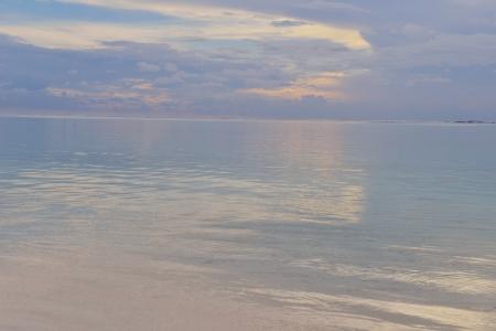 beautiful tropical beach background landscape nature sunset photo