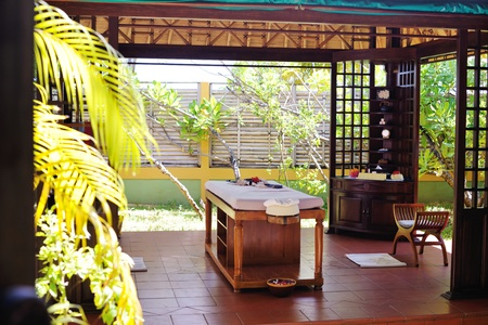 beauty center: spa beauty and massage center indoors outdoor