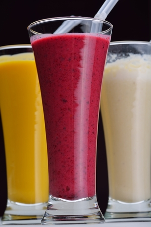 smoothies isolated shake drink fruit healthy photo