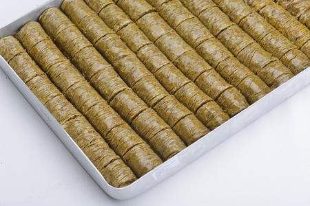 traditional dessert turkish baklava photo