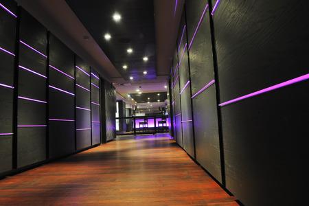 lounge bar: modern design club restaurant bar indoors