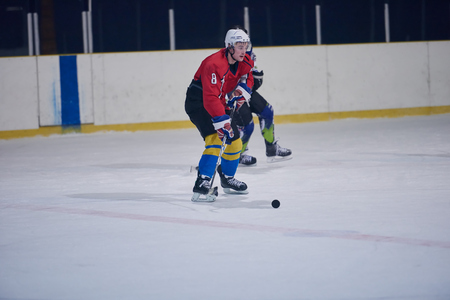 comp: ice hockey sport players in action, business comptetition concpet