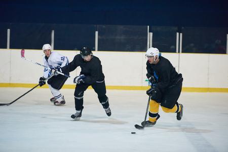 hockey sobre hielo: deportistas hockey sobre hielo de la acci�n, concpet comptetition negocio