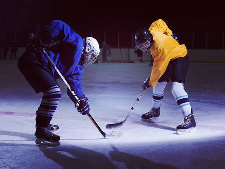 ice hockey sport players comptetition concpet Stockfoto