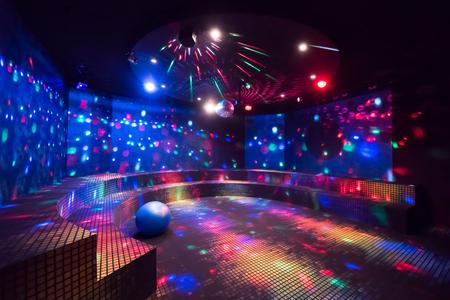 Disco ball light reflection Reklamní fotografie - 122847821
