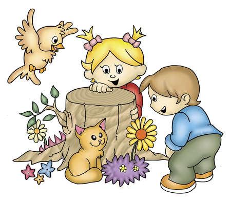 playtime: playtime Stock Photo