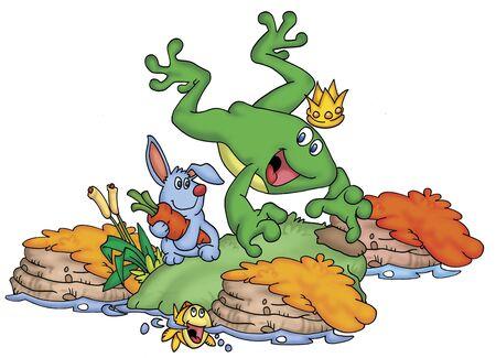 the frog prince: rana principe