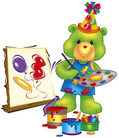 painter bear