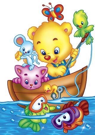 toy boat: fun time