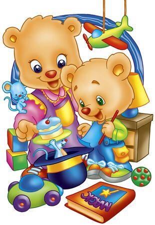 play bears