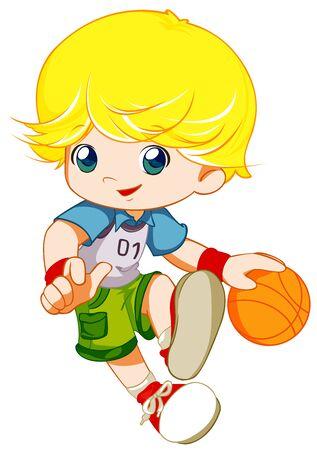 иллюстрировать: баскетболист