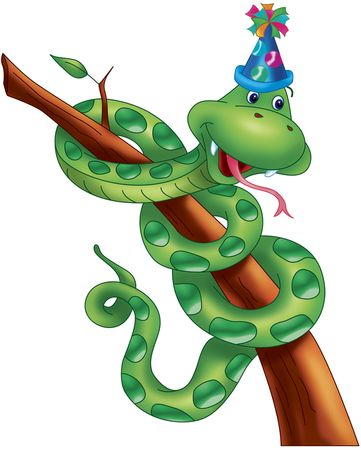 party snake Stock Photo