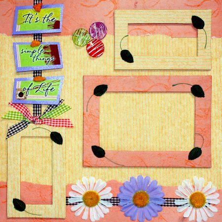 scrapbook cover design