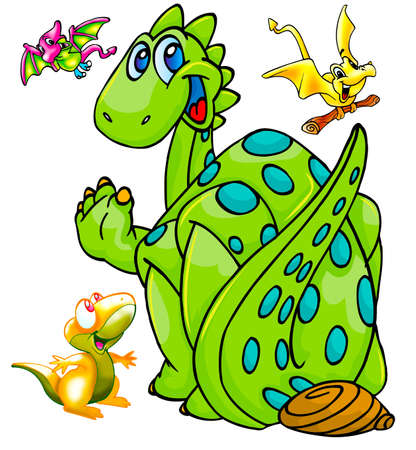 funny dinosaurs photo