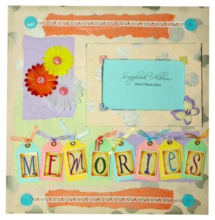 scrapbook frames: scrapbook album design