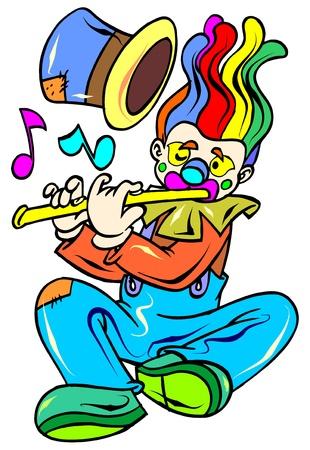 funny clown Stock Vector - 9430755