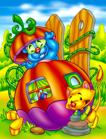 colorful cartoons photo
