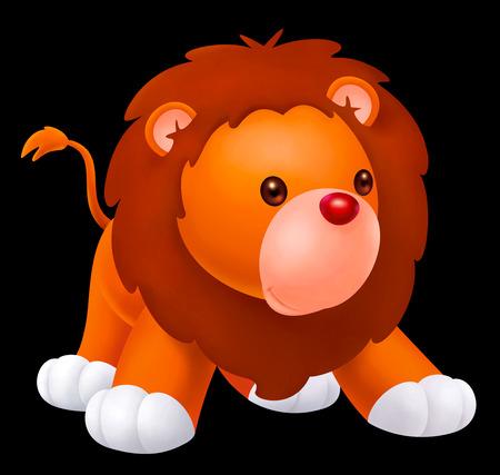 lion baby: bambino simpatico leone