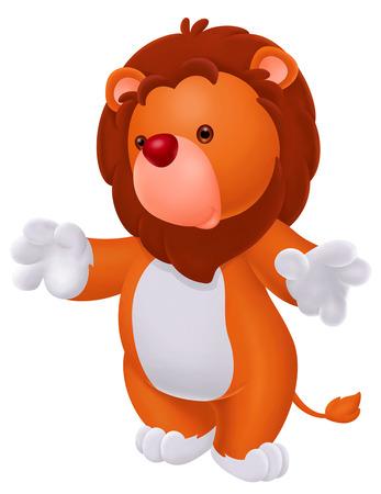 lion baby: cute baby lion Archivio Fotografico