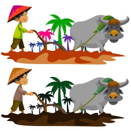 Landbouw Stockfoto