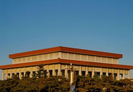 communistic: Mausoleo en Beijing China