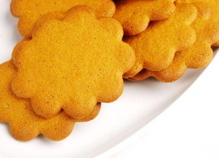 Lebkuchen-cookies Standard-Bild - 6010275