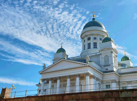 lutheran: The Lutheran Cathedral in Helsinki