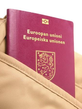Europäischer Pass Standard-Bild - 7287951