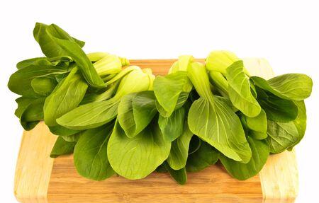 Frischer grüner Spinat Kohl Standard-Bild - 10832064